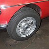 MGC with Campagnolo Wheel